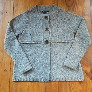 Boden gray cardigan sweater